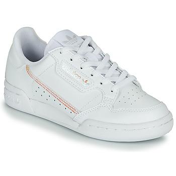 Zapatos Niña Zapatillas bajas adidas Originals CONTINENTAL 80 J Blanco