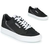 Zapatos Niños Zapatillas bajas adidas Originals CONTINENTAL VULC J Negro
