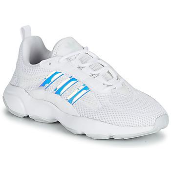 Zapatos Niña Zapatillas bajas adidas Originals HAIWEE J Blanco / Iridescent