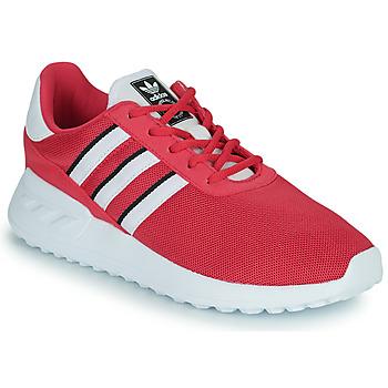 Zapatos Niña Zapatillas bajas adidas Originals LA TRAINER LITE C Rosa