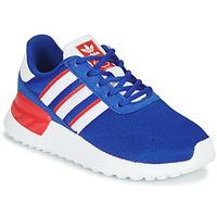 Zapatos Niño Zapatillas bajas adidas Originals LA TRAINER LITE C Azul