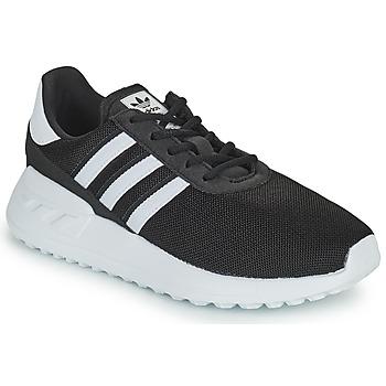 Zapatos Niños Zapatillas bajas adidas Originals LA TRAINER LITE C Negro / Blanco