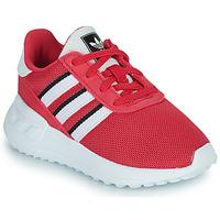 Zapatos Niña Zapatillas bajas adidas Originals LA TRAINER LITE EL Rosa