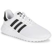Zapatos Niños Zapatillas bajas adidas Originals LA TRAINER LITE J Blanco / Negro