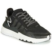 Zapatos Niños Zapatillas bajas adidas Originals NITE JOGGER J Negro