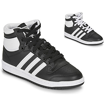Zapatos Niños Zapatillas altas adidas Originals TOP TEN J Negro / Blanco