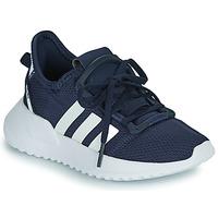 Zapatos Niño Zapatillas bajas adidas Originals U_PATH RUN C Marino / Blanco