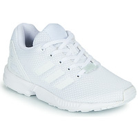 Zapatos Niños Zapatillas bajas adidas Originals ZX FLUX C Blanco