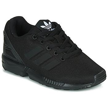 Zapatos Niños Zapatillas bajas adidas Originals ZX FLUX C Negro
