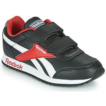 Zapatos Niños Zapatillas bajas Reebok Classic REEBOK ROYAL CLJOG Negro / Blanco / Rojo