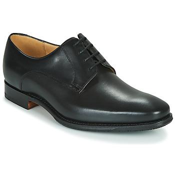 Zapatos Hombre Derbie Barker ELLON Negro
