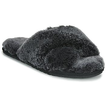 Zapatos Mujer Pantuflas EMU MAYBERRY FROST Negro