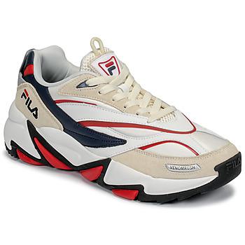 Zapatos Hombre Zapatillas bajas Fila RUSH Blanco / Beige / Rojo