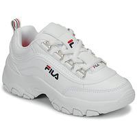 Zapatos Niña Zapatillas bajas Fila STRADA LOW KIDS Blanco