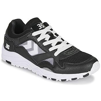 Zapatos Hombre Zapatillas bajas Hummel EDMONTON 3S LEATHER Negro
