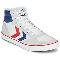 Zapatos Zapatillas altas Hummel STADIL HIGH OGC 3.0 Blanco / Azul / Rojo