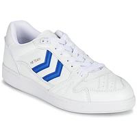 Zapatos Zapatillas bajas Hummel HB TEAM Blanco / Azul