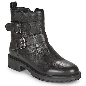 Zapatos Mujer Botines Geox HOARA Negro