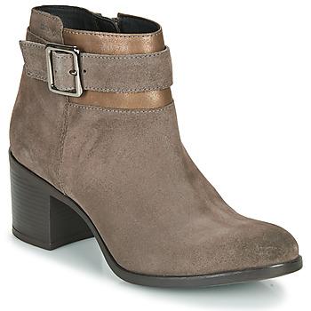 Zapatos Mujer Botines Geox NEW ASHEEL Beige