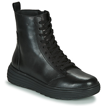 Zapatos Mujer Botas de caña baja Geox PHAOLAE Negro