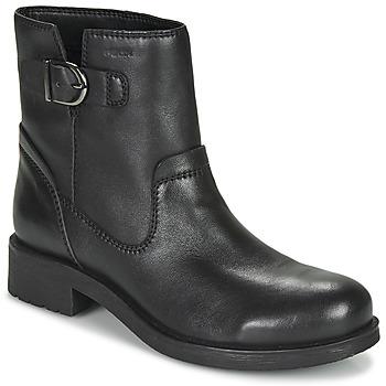 Zapatos Mujer Botas de caña baja Geox RAWELLE Negro