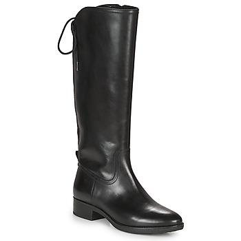 Zapatos Mujer Botas urbanas Geox FELICITY Negro