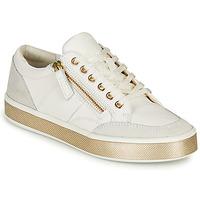 Zapatos Mujer Zapatillas bajas Geox LEELU Blanco