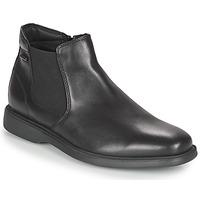 Zapatos Hombre Botas de caña baja Geox BRAYDEN 2FIT ABX Negro