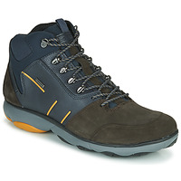 Zapatos Hombre Botas de caña baja Geox NEBULA 4 X 4 B ABX Marino / Marrón