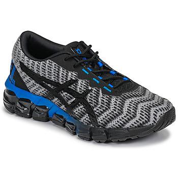 Zapatos Niños Zapatillas bajas Asics GEL-QUANTUM 180 5 GS Gris / Negro / Azul
