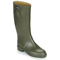Zapatos Hombre Botas de agua Aigle CESSAC Kaki