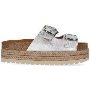 Zapatos Niña Sandalias Chika10 Kids Leather ASTRID 02 Plata/Silver