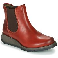 Zapatos Mujer Botas de caña baja Fly London SALV Rojo