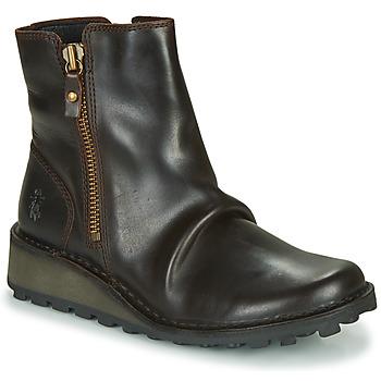 Zapatos Mujer Botas de caña baja Fly London MON944FLY Negro