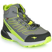Zapatos Niño Zapatillas altas Kangaroos K-SCOUT RTX Gris / Verde