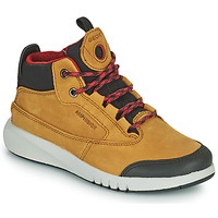 Zapatos Niño Botas de caña baja Geox AERANTER ABX Camel