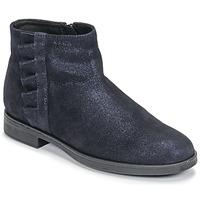 Zapatos Niña Botas de caña baja Geox AGGATA Marino