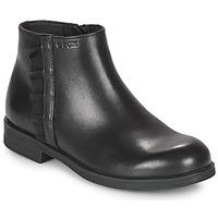 Zapatos Niña Botas de caña baja Geox AGGATA Negro