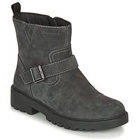 Zapatos Niña Botas de caña baja Geox CASEY WPF Gris