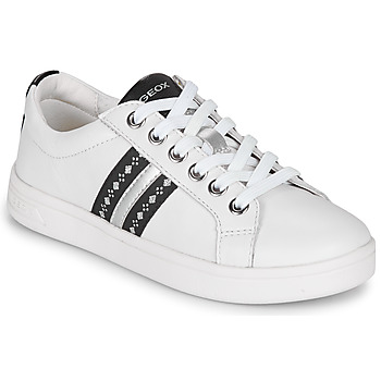 Zapatos Niña Zapatillas bajas Geox DJROCK Blanco