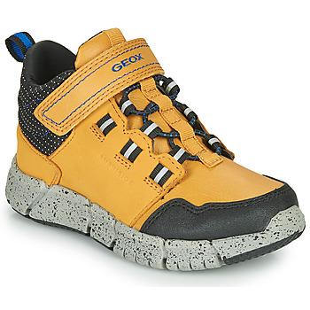 Zapatos Niño Botas de caña baja Geox FLEXYPER ABX Miel