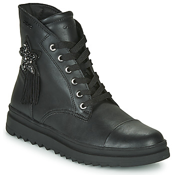 Zapatos Niña Botas de caña baja Geox GILLYJAW Negro