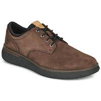 Zapatos Hombre Zapatillas bajas Timberland Cross Mark PT Oxford Marrón
