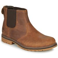 Zapatos Hombre Botas de caña baja Timberland LARCHMONT II CHELSEA Marrón