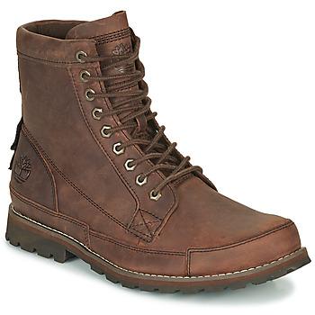 Zapatos Hombre Botas de caña baja Timberland ORIGINALS II LTHR 6IN BT Marrón