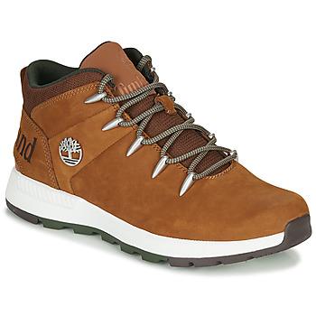 Zapatos Hombre Botas de caña baja Timberland SPRINT TREKKER MID Marrón