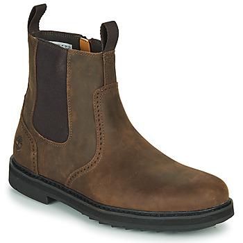 Zapatos Hombre Botas de caña baja Timberland SQUALL CANYON BROG WP CHL Marrón