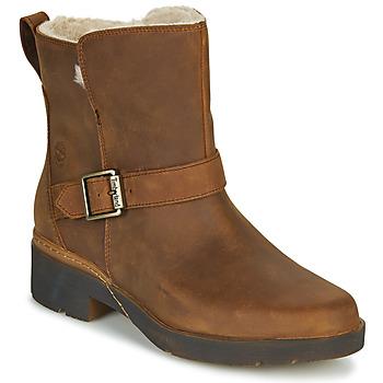 Zapatos Mujer Botas de caña baja Timberland GRACEYN BIKER WP Marrón