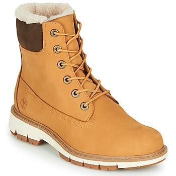 Zapatos Mujer Botas de caña baja Timberland LUCIA6INWARMLINEDBOOTWP Trigo