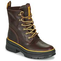 Zapatos Mujer Botas de caña baja Timberland MALYNN MID LACE EK+ WP Marrón